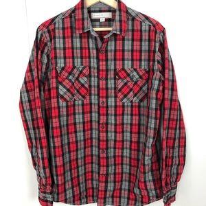 PAPER DENIM & CLOTH Plaid Button Down Shirt Medium